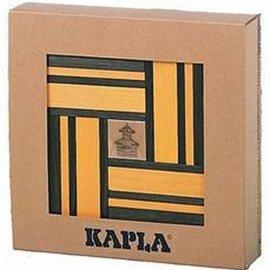 Kapla Kapla 40 doos geel groen met boekje