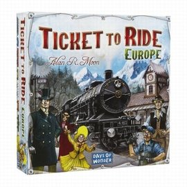 Days of Wonder Ticket to Ride Europa (basis spel)