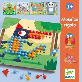 Djeco Djeco Educatieve spellen - Mosaiek rigolo