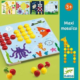 Djeco Djeco Educatieve spellen - Mozaïekspel Maxi