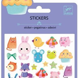 Djeco Djeco Mini stickers - Kawai