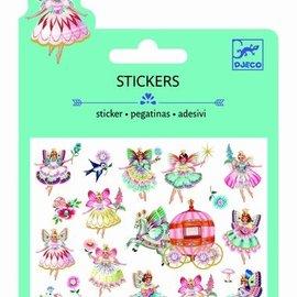 Djeco Djeco 9783 Mini stickers - Feeën en vleugels