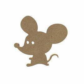 Hobbygroep Grappige muis 15 cm