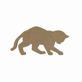 Spelende kat 15 cm
