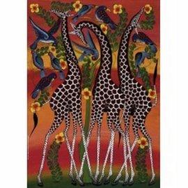 Heye Heye Giraffes Tinga Tinga 1000 stukjes