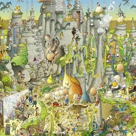 Heye Jurassic Habitat 1000 stukjes