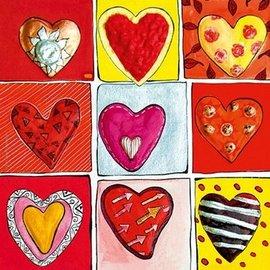 Heye All the 9. Hearts of gold 100 stukjes