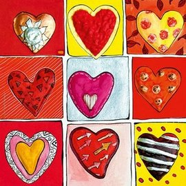 Heye Heye All the 9. Hearts of gold 100 stukjes