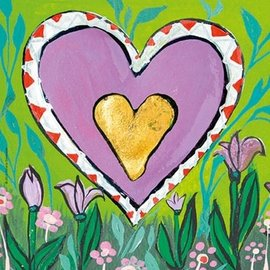 Heye Spring. Hearts of gold 100 stukjes