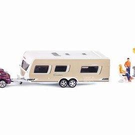 Siku Siku Auto met caravan 1:55 (2542)