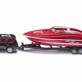 Siku Siku Auto met speedboot 1:55 (2543)