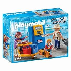 Playmobil Playmobil - Vakantiegangers inchekbalie (5399)