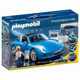 Playmobil Playmobil - Porsche 911 Targa 4S. LED-verlichting+showroom