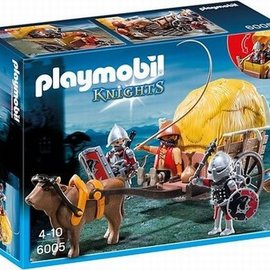 Playmobil Playmobil - Knights Camouflage hoogwagen (6005)