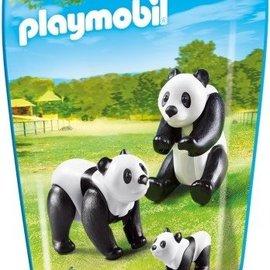 Playmobil Playmobil - Panda's met baby (6652)