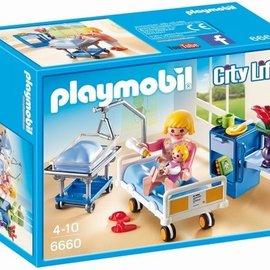 Playmobil Playmobil - Kraamkamer met babybed (6660)