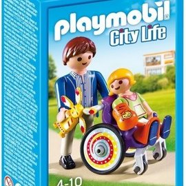 Playmobil Playmobil - Kind in rolstoel (6663)