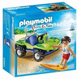 Playmobil Playmobil - Surfer met strandbuggy (6982)