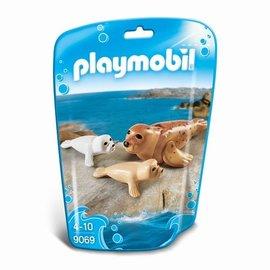 Playmobil Playmobil - Zeehond met pups (9069)