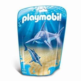 Playmobil Playmobil - Zwaardvis met jong (9068)