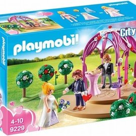 Playmobil Playmobil - Bruidspaviljoen met bruidspaar (9229)