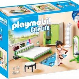 Playmobil Playmobil - Slaapkamer met make-up tafel (9271)