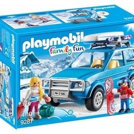Playmobil Playmobil - 4 x 4 met dakkoffer (9281)