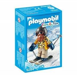 Playmobil Playmobil - Skiër op snowblades (9284)