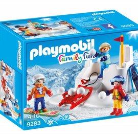 Playmobil Playmobil - Sneeuwballengevecht (9283)