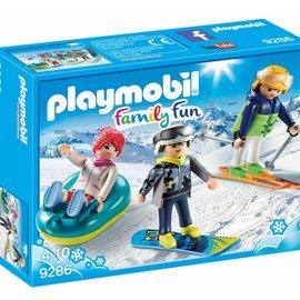 Playmobil Playmobil - Wintersporters (9286)