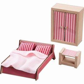 Haba Haba 301988 Poppenhuismeubels Slaapkamer voor volwassenen