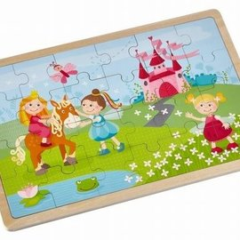 Haba Haba 303187 Houten puzzel Prinsessen