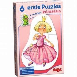 Haba Haba 303310 ---- 6 eerste puzzels - Prinses