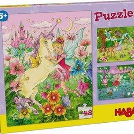 Haba Haba 303354 Puzzels Feeënmagie