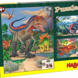 Haba Haba 303377 Puzzels Dinosaurussen