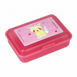 Lunchbox klein kat roze Little Friends