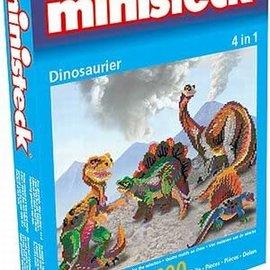 Ministeck Ministeck Dinosaurissen 4in1. ca. 1600 stukjes