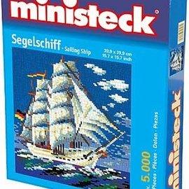 Ministeck Zeilschip. ca. 5000 stukjes