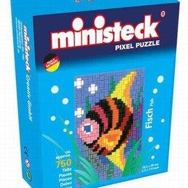 Ministeck Ministeck Vis met achtergrond. ca. 750 stukjes