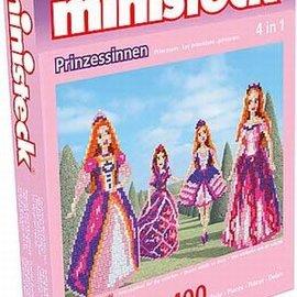 Ministeck Ministeck Prinsessen 4in1. ca. 1400 stukjes