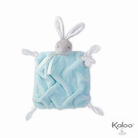 Kaloo Plume - Doudou konijn aqua