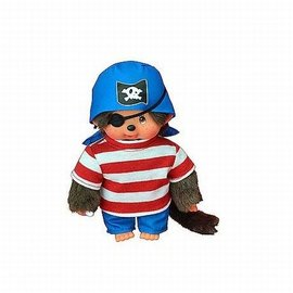 MONCHHICHI 20 cm Jongen Piraat