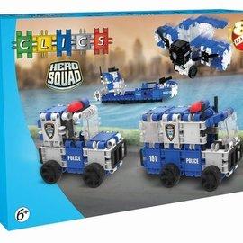 Clics Clics Hero Squad Politie Box 8 in 1