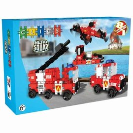Clics Clics Hero Squad Brandweer Box 8 in 1