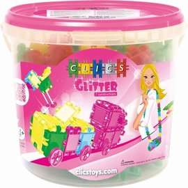 Clics Clics Glitter Emmer 175-delig 7 in 1