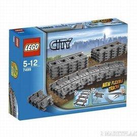 Lego Lego 7499 Flexibele rails + rechte rails