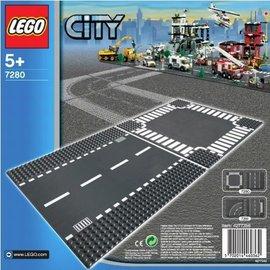 Lego Lego 7280 Rechte wegenplaten en kruising
