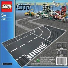 Lego Lego 7281 T-kruising en bocht