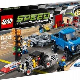 Lego Lego 75875 Ford F-150 Raptor en Ford Model A Hot Rod
