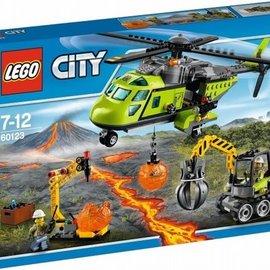 Lego Lego 60123 Vulkaan bevoorradingshelikopter